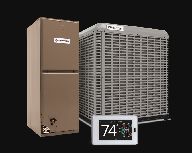 Champion Split System Air Conditioner featured at springhillproair.com
